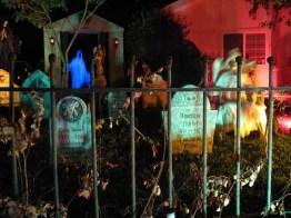 mourning rose manor yard haunt display