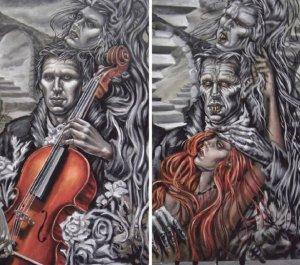 Knott's Halloween Haunt 2012 Dominion of the Dead art