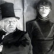 Werner Krause and Conrad Veidt in CABINET OF DR. CALIGARI