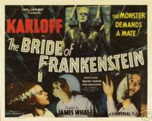 bride of frankenstien horizontal