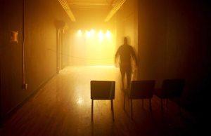 Blackout Haunted House corridor