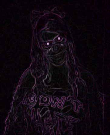 Artist's impression of Bloody Mary's Ghost