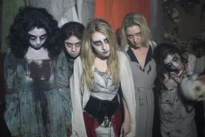 Ghostly Girls inside the Blumhouse of Horrors
