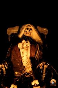 Mourning Rose Manor 2013 skeleton in rocking chair