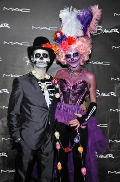 Jason and Naomi Priestley (Photo by John Sciulli/Getty Images for MAC Cosmetics)