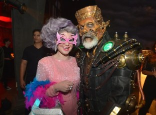Kelly Osbourne and Rick Baker (Photo by Charley Gallay/Getty Images for MAC Cosmetics)
