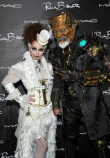 Rick Baker and Silvia Baker (Photo by John Sciulli/Getty Images for MAC Cosmetics)