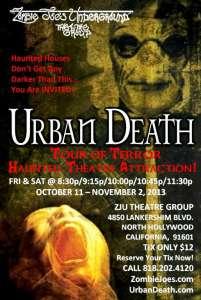 Urban Death Tour of Terror 2013