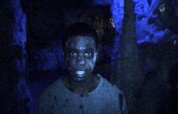 A zombie haunting the caves at Night of the Living Zoo