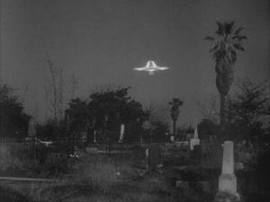Pioneer Memorial Cemetery as seen in Plan Nine From Outer Space