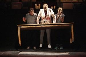 Todd Robbins raises spirits at the Geffen Playhouse.