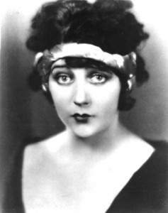 Silent screen star Barbara La Marr - one of many Hollywood luminaries on the tour.