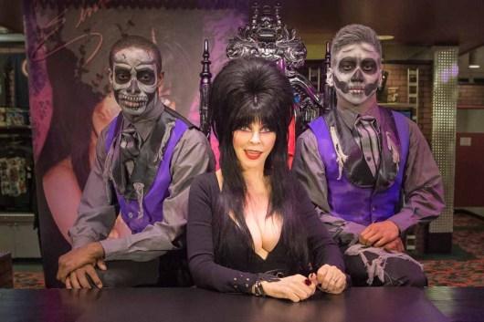 Elvira at Elvira's Bou-tique.