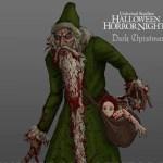 Halloween Horror Nights 2014 - Bad Santa from Dark Christmas