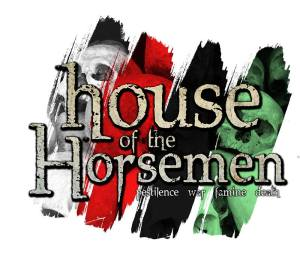 Haunted Hayride House of the Horsemen logo