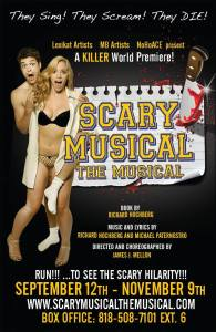Scary Musical The Musical poster
