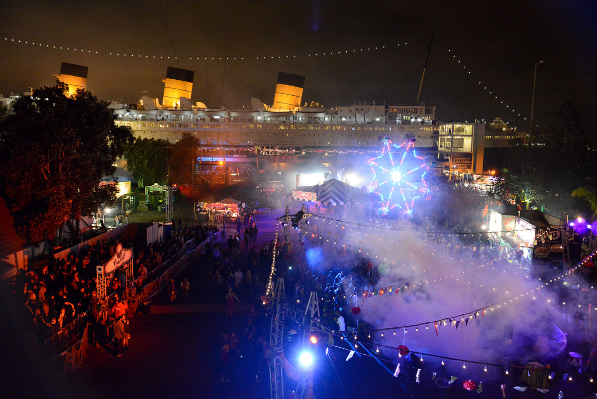 queen mary dark harbor: halloween 2014 review | hollywood gothique