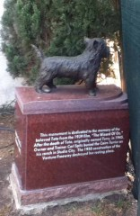 Hollywood Forever Cemetery: Toto Memorial