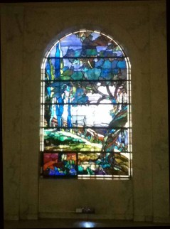 Hollywood Forever Cemetery: Stained Glass in the Cathedral Mausoleum