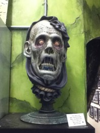 October Shadows 2014: ghoulish ghost head
