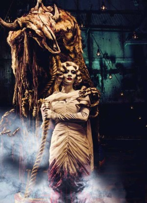 Queen Mary Dark Harbor 2014 Graceful Gale with Beast