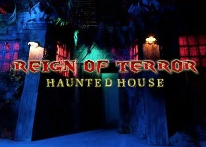 Reign of Terror entrance with title