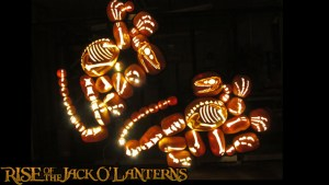 Rise of the Jack O Lanterns - raptors