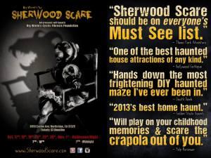 Sherwood Scare 2014: Sherwood Studios ad