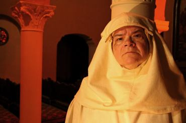 Wicked Lit 2014: Wendy Worthington as the strict nun in The Monk