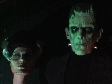 The Hollywood Museum: Bride of Frankenstein and the Frankenstein Monster