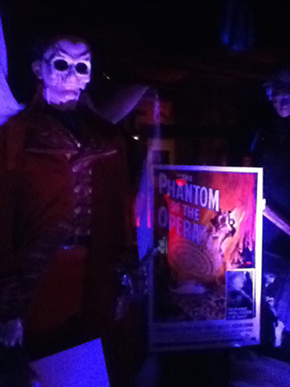 Hollywood Museum Dungeon of Doom Phantom of the Opera Poster 1962
