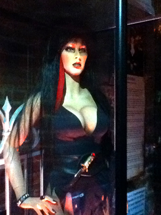 Elvira also appears in the Dungeon of Doom.