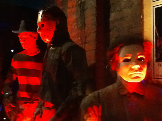 The Hollywood Museum: Freddy, Jason, Michael in Dungeon of Doom