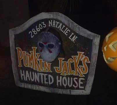 pumkin jack's haunted house