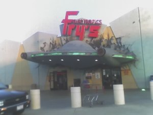 Fry's Flying Saucer