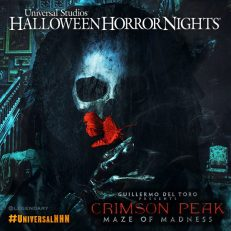 Halloween Horror Nights 2015: Crimson Peak