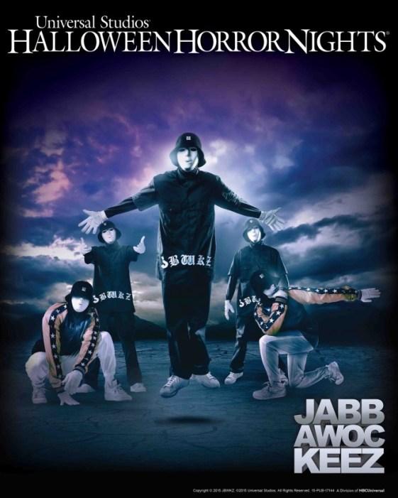 Jabbawockeez at Halloween Horror Nights 2015