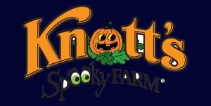 Knott's Spooky Farm logo retouch