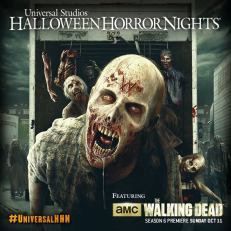 The Walking Dead at Halloween Horror Nights 2015