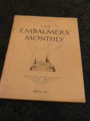 Embalming Monthly