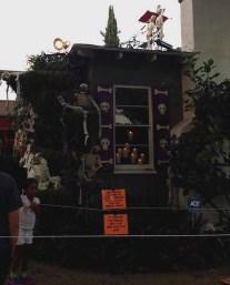 Boney Island 2015 window with candles