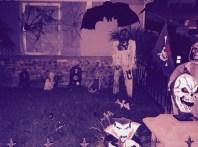 Butler Estate neighbor yard with bat