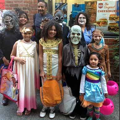 old pasadena celebration trick or treating 2015 - What Is Halloween A Celebration Of