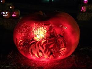 Rise of the Jack O'Lanterns 2015 american pharoah