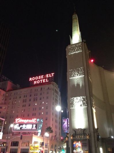 Haunted Roosevelt Hotel on Hollywood Boulevard