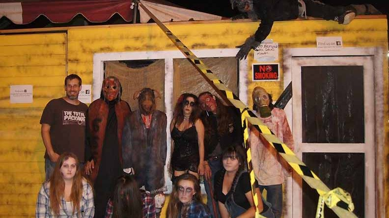 The cast of the Flesh Yard