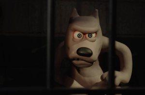 Shaun the Sheep: angry dog prisoner