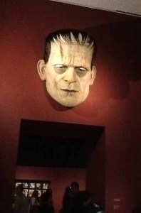The Face of Frankenstein at LACMA's Guillermo Del Toro: At Home with Monsters.