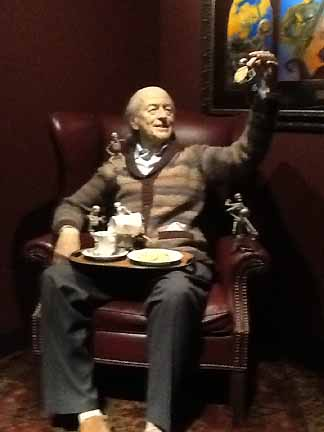 Ray Harryhausen at LACMA's Guillermo Del Toro: At Home with Monsters.