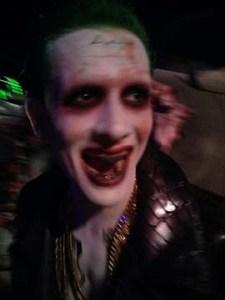 The Joker at Six Flags Fright Fest Magic Mountain